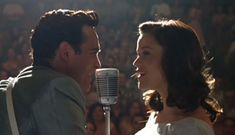 Joaquin Phoenix and Reese Witherspoon in Walk The Line Walk The Line Movie, The Fall Movie, Autumn Movie, Johnny Cash Music, Robert Movie, June Carter Cash, Jerry Lewis, Best Love Stories, Joaquin Phoenix