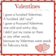 valentines day poem for kids