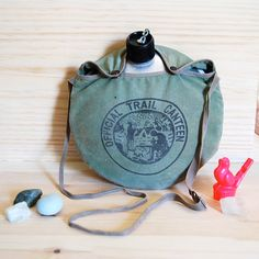 Canteen/ my dad made me get one for my 1st summer at camp. It made the water taste even worse!