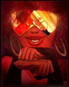 Garnet Crystal Gems Print w/ Ruby & Sapphire, x print + postcard sizes available: Steven Universe - Steven Universe - Salad Recipes Garnet Steven, Steven Univese, Steven Universe Garnet, Steven Universe Ships, Teen Titans, Desenhos Cartoon Network, Universe Art, Postcard Size, Chibi
