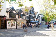 Taunton Town Centre.