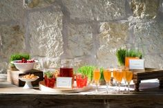 Orange... + vert - The Wedding Tea Room