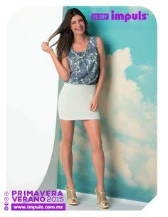 Compra en línea lo mejor de la moda Primavera-Verano 2015 en www.impuls.com.mx
