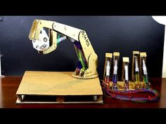 ✅ How to make HYDRAULIC ROBOTIC ARM || DIY Cardboard || Simple with detail measurement - YouTube