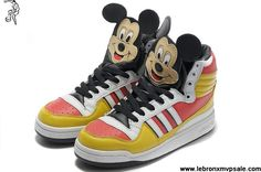 Latest Listing Adidas X Jeremy Scott Mickey Shoes Casual shoes Store