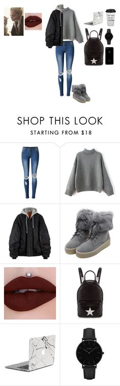"""Başlıksız #411"" by belinda-bailey ❤ liked on Polyvore featuring WithChic, Givenchy and CLUSE"