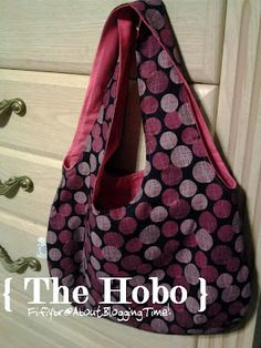 sewing  bag  hobo bag
