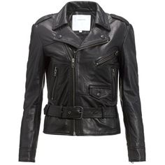 Surface to Air Black Leather Fecto Jacket