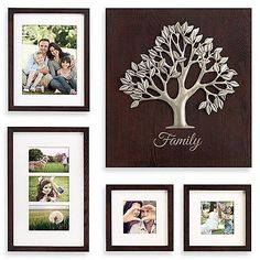 The Artisan Tree Box Photo Frame collection makes it easy to create a collage of cherished family photographs. Set includes 1 tree art plaque, two 5 x 5 photos each, one 8 x 10 frame and one open collage frame that holds three 4 x 6 photos.