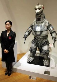 """""""Hideaki Anno's Tokusatsu Museum"""" opened at the Museum of Contemporary Art Tokyo this week, with the tokusatsu fanboy turned Evangelion creator curating a look at the artifacts from Jap What Is Drama, Hideaki Anno, Pokemon Dragon, Anime News Network, Shadow Dragon, Movie Props, Japanese Culture, Godzilla, Sci Fi"""