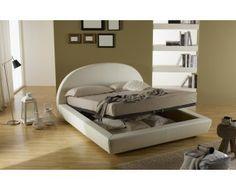 gressvik struttura letto con contenitore, grigio scuro | bedrooms ... - Letto Contenitore Grigio