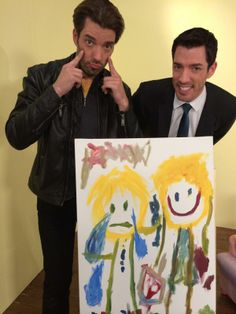 Jonathan the Cry Baby ;) Hey, a 4 yr old said it, not me! #BROvsBRO #TeamDrew ! All smiles here! #ToddlervsToddler #KidsSaytheDarnestThings #Art #Collectible