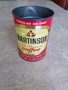 Vintage Martinson Coffee Tin by 3LittleWitches on Etsy