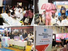 Tuesday is World Book and Copyright Day — let's celebrate the power of books & help all people access them http://j.mp/11MkU67    These photos show celebrations from Bangkok — World Book Capital 2013.
