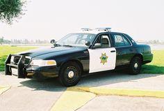 Crown Victoria police car