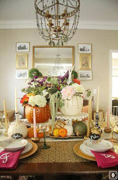 dining room,    Blogging at:  Charming in Charlotte