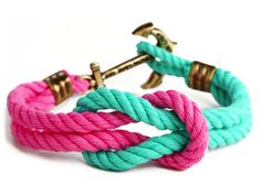 Anchor Bracelet - The Vineyard Knot - by Kiel James Patrick....I can't contain myself-- so cute!!!!!!