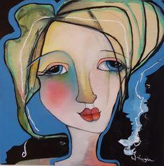 """Anatomy in Blue"", oil on birch, x Disney Characters, Fictional Characters, Original Paintings, Aurora Sleeping Beauty, My Arts, Disney Princess, Birch, Anatomy, Oil"