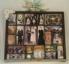 """Ancestors"" Tray Shadow Box"