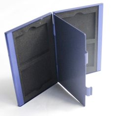 Дешевое Синий алюминий карты памяти коробка для хранения Protecter чехол держать 4CF карты для камеры DSLR Nikon канона Samsung, Купить Качество Кейсы для карт памяти непосредственно из китайских фирмах-поставщиках:                      Введение детали        :                      1.                  Новый бренд и высокое качество