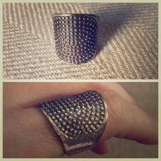 Amrita Singh Maxtla Ring Sz 7 Great everyday piece! Has a tarnished look. Worn a few times. Good condition! Sz 7 Amrita Singh Jewelry Rings