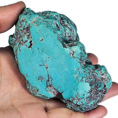 1369CT 100% Natural BISBEE Turquoise Untreated Nugget Rough Specimen MYSS130 Bisbee Turquoise, Under The Surface, Natural, Minerals, Gems, Crystals, Nature, Au Natural