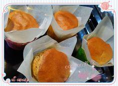 concon 煮意 blog: 沖繩黑糖紙包蛋糕 - 附食譜