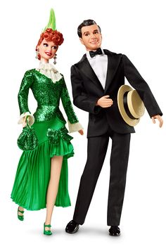 Lucy and Ricky - I don't have Barbie dolls anymore, but these collector dolls are fun to look at! :)