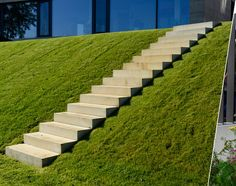 stairs on hillside
