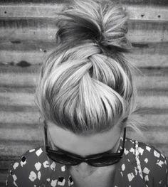 via for a little mystery....hair!!