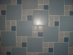 Images of vintage blue bathrooms -- tile, fixtures, walls, laminate -- all of the retro blue bathroom eye candy you are dying to see!
