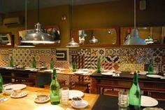 LISBON, PORTUGAL: Petiscaria Ideal Portugal Travel, Lisbon Portugal, Portugal Trip, Coca Cola, Lisbon Restaurant, Kitchen, Table, Shops, Furniture