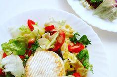 Sałatka ze smażonym camembertem Cobb Salad, Food, Essen, Meals, Yemek, Eten