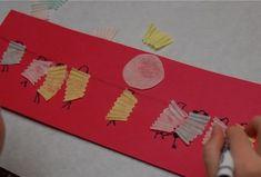 3-D Paper Lantern Picture