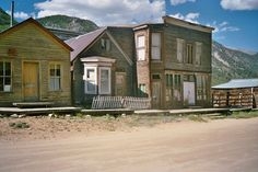 The Colorado ghost town of St. Elmo is situated high in the Sawatch Mountain Range about 20 miles southwest of Buena Vista, CO. Founded in 1880, this former gold mining camp is one of the best-preserved ghost towns in Colorado.