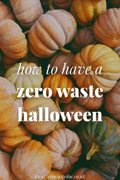 How to have a zero waste halloween Pumpkin Soup, Pumpkin Recipes, Reduce Waste, Zero Waste, Japanese Pastries, Fair Trade Chocolate, Plastic Pumpkins, Up House, Food Waste