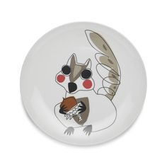 "Squirrel 9"" Melamine Plate 