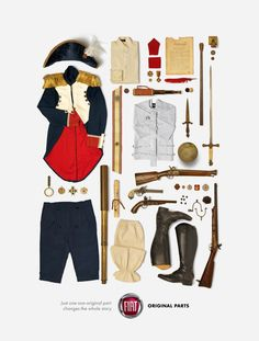 Fiat - Original Parts, Napoleon Napoleon, Creative People, Advertising Campaign, New Adventures, Ocd, Say Hello, Fiat, Believe, Graphic Design