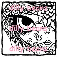 Dilly Beans Stamps: #417-Lila $3.50