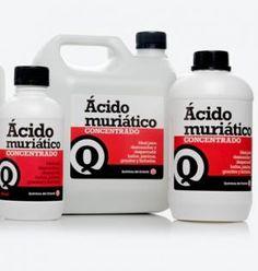 Cómo limpiar con ácido muriático