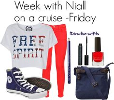"""Week on a cruise with Niall - Friday"" by one-direction-7 ❤ liked on Polyvore"