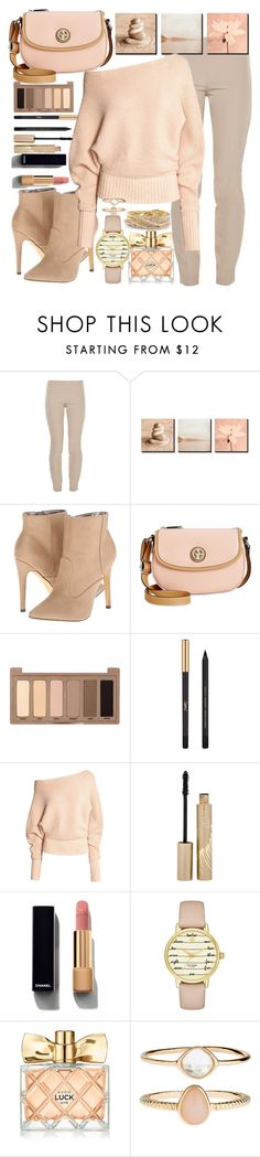 """""""pastel leggings"""" by teto000 ❤ liked on Polyvore featuring The Row, Michael Antonio, Giani Bernini, Urban Decay, Yves Saint Laurent, Stila, Chanel, Kate Spade, Avon and Accessorize"""