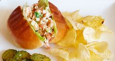 Lobster roll (kreeftenbroodje)