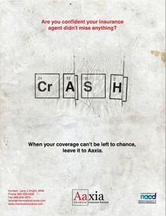 Chemical Insurance Advertisement