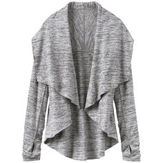 Thow this on over your tank and you'll transition seamlessly from barre class to errands. via StyleList