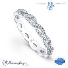 eternity infinity diamond band