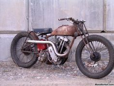 Bobber Inspiration | Rusty AJS bobber | Bobbers and Custom Motorcycles