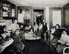 Room in Tenement Flat (1910). Jessie Tarbox Beals.