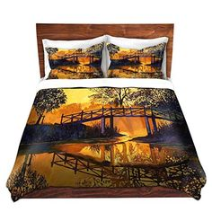 Duvet Cover Brushed Twill Twin, Queen, King SETs DiaNoche Designs by David Lloyd Glover Home Decor Bedding Ideas - Solitude Home Decor Bedding, Single Duvet Cover, Solitude, Free Delivery, Comforters, Duvet Covers, Twin, David, Queen