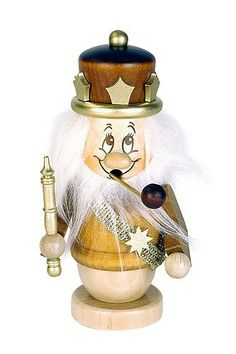 German Incense Smoker Gnome King  145 cm  6 inches  Christian Ulbricht ** This is an Amazon Affiliate link. More info could be found at the image url.